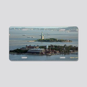 Statue of Liberty Aluminum License Plate