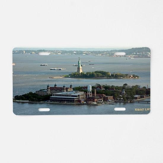 Statue of Liberty Aluminum License Plate