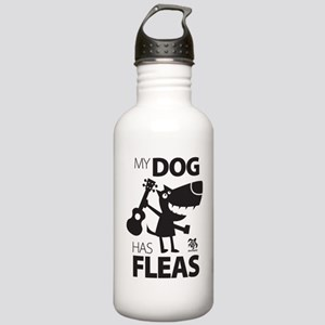 My Dog Has Fleas 13 Stainless Water Bottle 1.0L