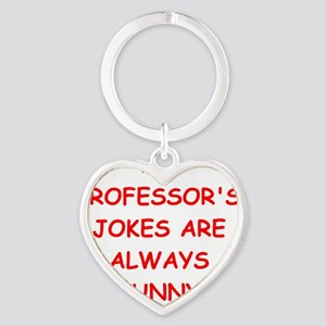 PROFESSOR Heart Keychain