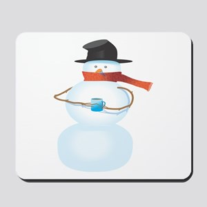 Cold Snowman Mousepad