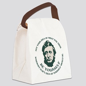 thoreau-be-you-LTT Canvas Lunch Bag