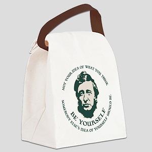 thoreau-be-you-LTT Canvas Lunch Bag