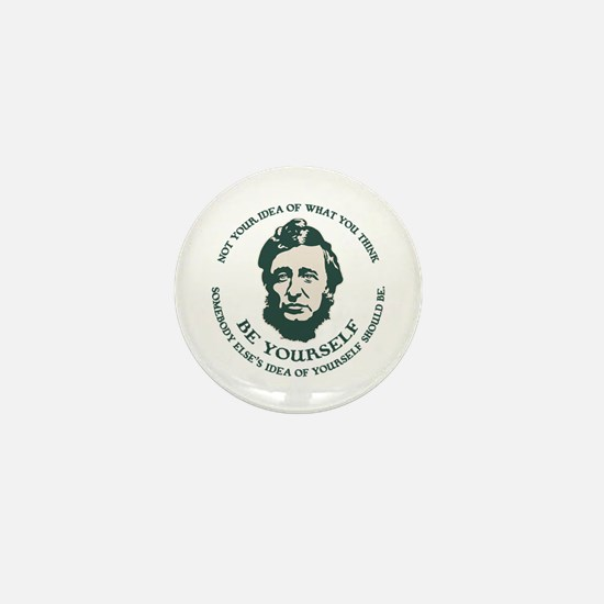 thoreau-be-you-LTT Mini Button