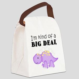 Dinosaur Kind of a Big Deal Canvas Lunch Bag