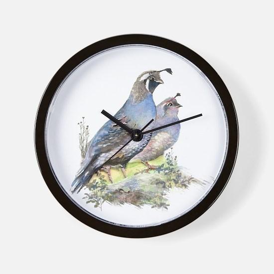 calif quai pairl  Wall Clock