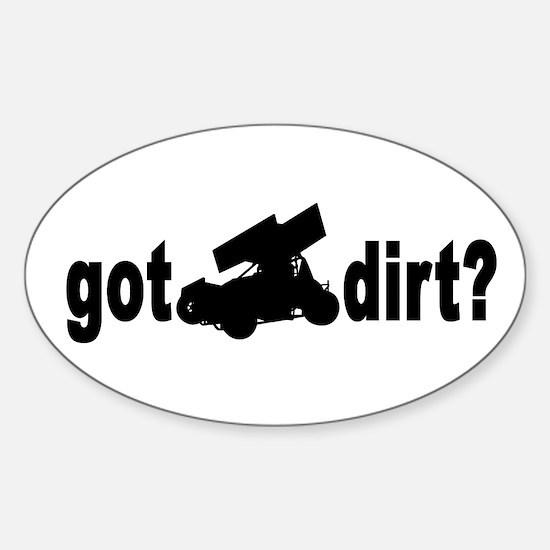 Got Dirt? Oval Decal