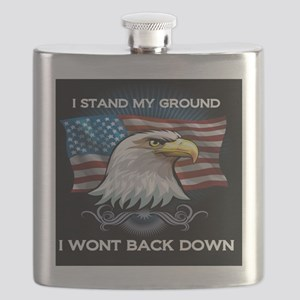 I STAND MY GROUND I WONT BACK DOWN Flask
