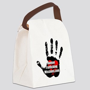Human Trafficking Missions Small  Canvas Lunch Bag