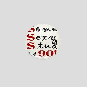 Funny 90th Birthday Gift For Men Mini Button