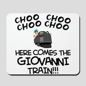 Giovanni Train Mousepad