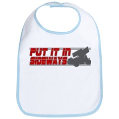 Sideways -Red/Grey Bib
