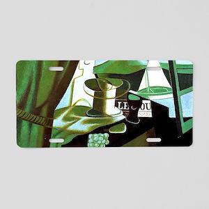 Juan Gris: The Bay Aluminum License Plate