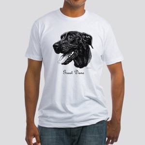 Black Dane Fitted T-Shirt