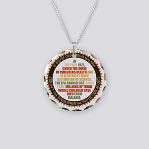 Blame The EPA Necklace Circle Charm