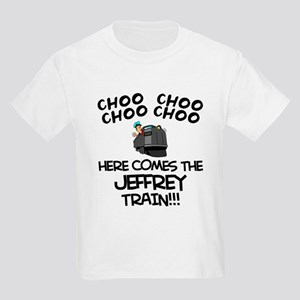 Jeffrey Train Kids Light T-Shirt