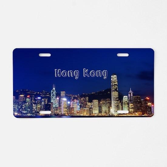 HongKong_17.44x11.56_LargeS Aluminum License Plate