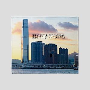 HongKong_11x9_InternationalCommerceC Throw Blanket