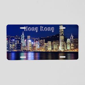 HongKong_18.8x12.6_Skyline_ Aluminum License Plate