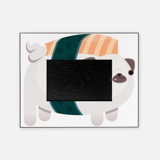 Nigiri-Pug Picture Frame