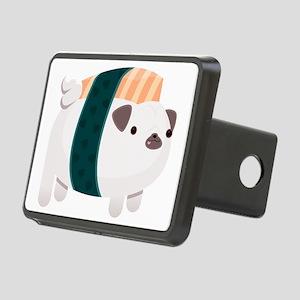 Nigiri-Pug Rectangular Hitch Cover