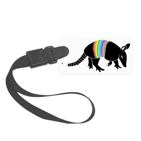 armadillo gürteltier sloth fault Small Luggage Tag