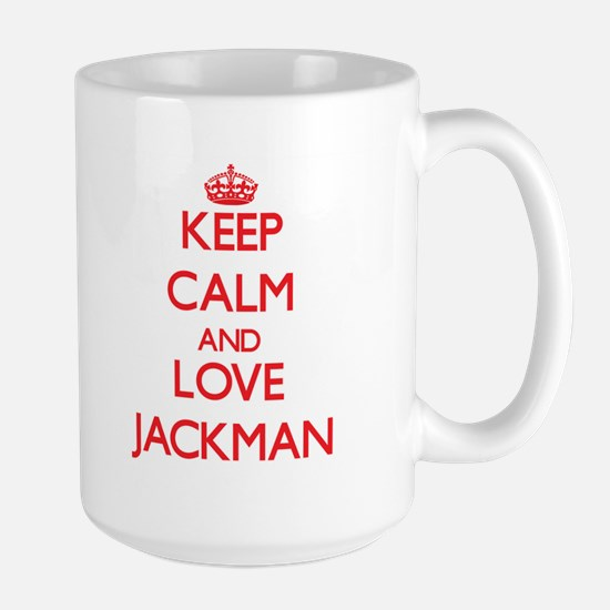 Keep calm and love Jackman Mugs