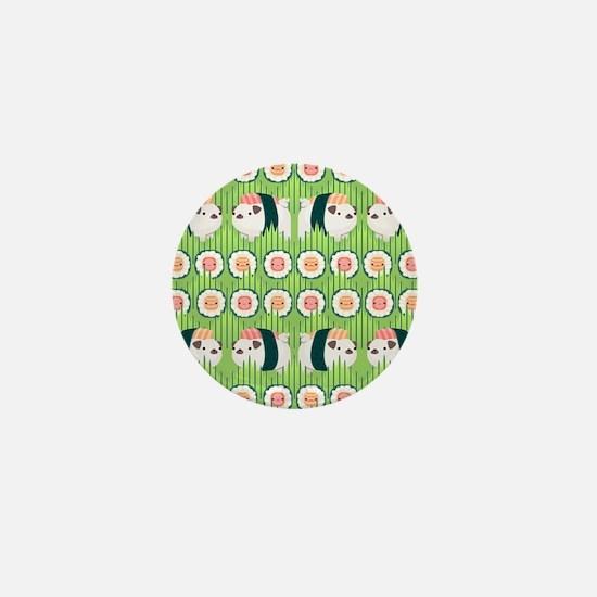 Nigiri-Pug Mini Button