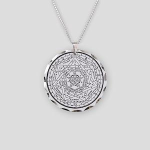 Sigillum Dei Aemeth Necklace Circle Charm