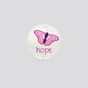 Hope Floats in Pink Mini Button