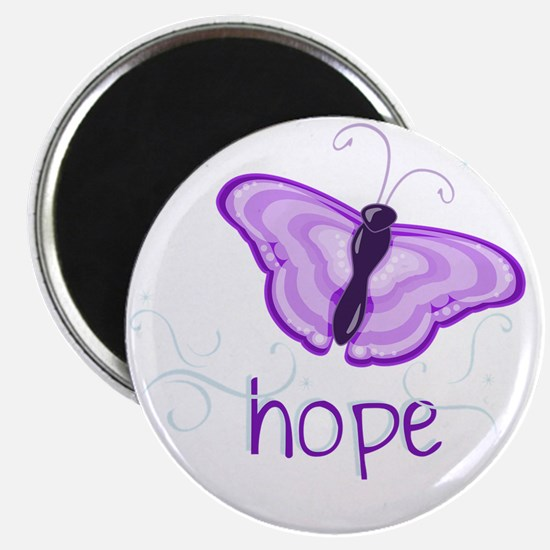 Hope Floats in Purple Magnet