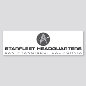 Starfleet Headquarters Promo Desi Sticker (Bumper)