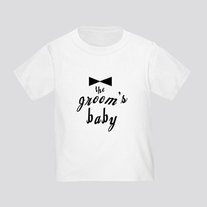 The Groom's Baby Toddler T-Shirt
