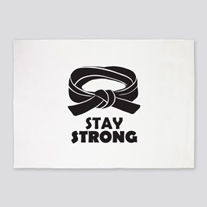 Stay Strong 5'x7'Area Rug