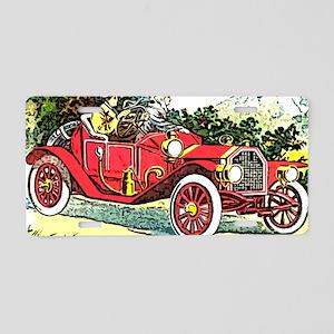 Sunday drive Aluminum License Plate