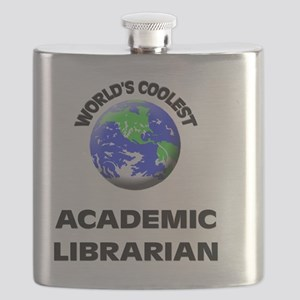 World's Coolest Academic Librarian Flask