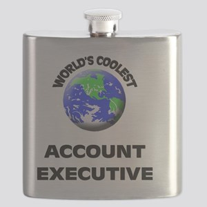 World's Coolest Account Executive Flask