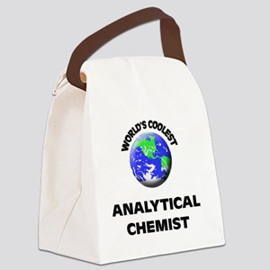 World's Coolest Analytical Chemis Canvas Lunch Bag
