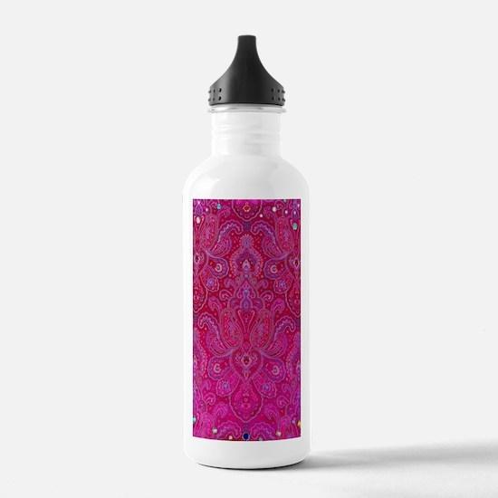 Paisley Jewels Water Bottle
