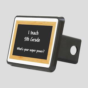 I teach 5th Grade Rectangular Hitch Cover