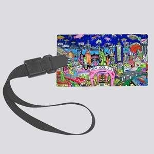 Design #24 Large Luggage Tag