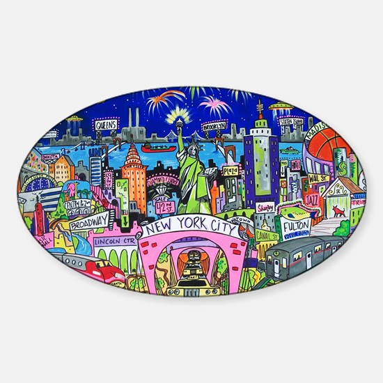Design #24 Sticker (Oval)