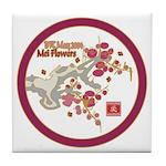 Mei Flowers Tile Coaster