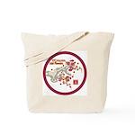 Mei Flowers Tote Bag