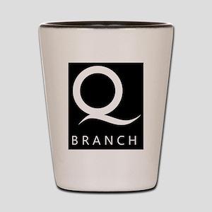 Q Branch Shot Glass
