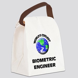 World's Coolest Biometric Enginee Canvas Lunch Bag