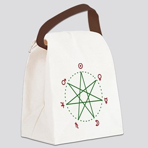 Weekday Heptagram Canvas Lunch Bag