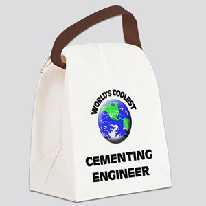 World's Coolest Cementing Enginee Canvas Lunch Bag
