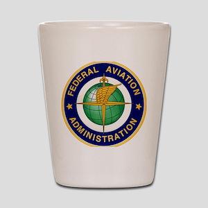FAA logo Shot Glass