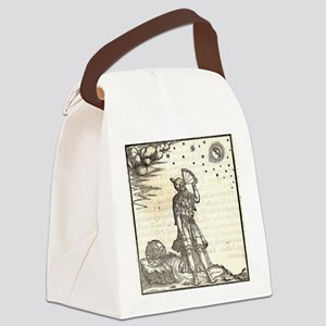 Ptolemy Astrology Canvas Lunch Bag